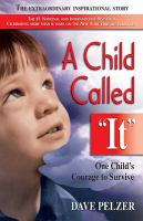 A Child Called &quot;It&quot; book cover