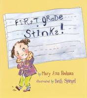 Cover Image of First Grade Stinks