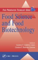 Food Science and Biotechnology [electronic resource]: Facing the Next Century