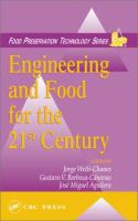 Engineering and Food for the 21st Century. Vol. 1 [electronic resource]