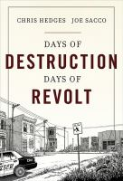 Cover of the book Days of destruction, days of revolt