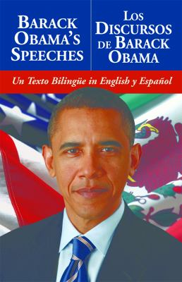 Book cover for Barack Obama's speeches [electronic resource] = Los discursos de Barack Obama