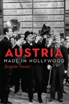 Book cover for Austria made in Hollywood / Jacqueline Vansant