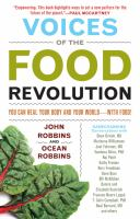 book cover image of voices of the food revolution