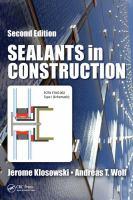 Sealants in construction
