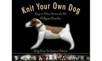 Book cover for Knit Your Own Dog by Sally Muir and Joanna Osborne