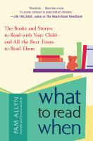 Book cover image of what to read when
