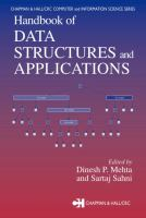 Handbook of Data Structures and Applications [electronic resource]