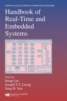 Handbook of real-time and embedded systems [electronic resource]