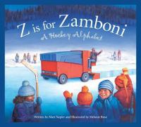 Cover Image of Z is for zamboni