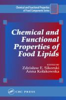 Chemical and Functional Properties of Food Lipids [electronic resource]