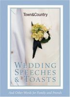 Wedding Speeches & Toasts