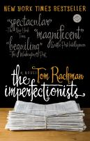 Cover of the book The imperfectionists a novel