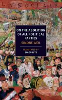 On the abolition of all political parties [electronic resource]