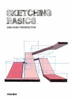 Sketching basics : one point perspective