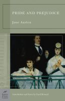 Cover Image for Pride and Prejudice by Jane Austen