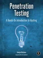 Penetration testing : a hands-on introduction to hacking