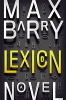 Lexicon: : A Novel