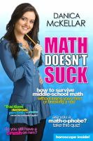 Math doesn't suck : how to survive middle school math without losing your mind or breaking a nail