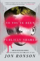 So you've been publicly shamed.
