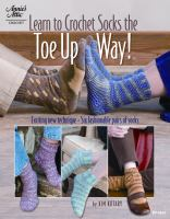 Learn to crochet socks the toe-up way!