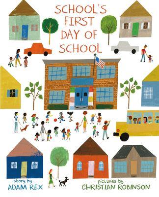 School's First Day of School book jacket