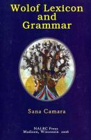 Wolof lexicon and grammar /