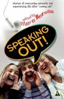 book cover:  Speaking out : LGBTQ youth stand up