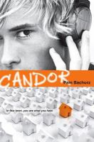 Candor book cover