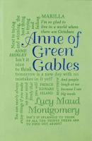 Book cover: Anne of Green Gables