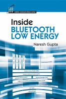 Inside Bluetooth Low Energy [electronic resource]