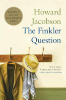 The Finkler question.