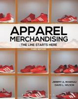 Apparel merchandising : the line starts here
