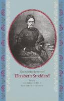The selected letters of Elizabeth Stoddard
