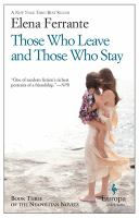 Cover of the book Those who leave and those who stay