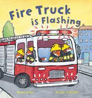 Fire Truck is flashing