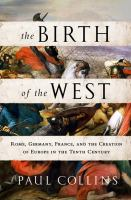 The Birth of the West