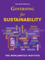 State of the World 2014 [electronic resource] : Governing for Sustainability.