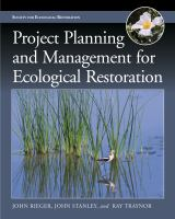 Project Planning and Management for Ecological Restoration [electronic resource]