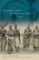 Ota Benga Under My Mother's Roof: Poems