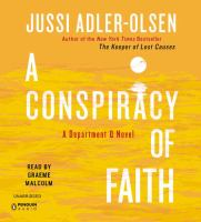 Cover Image - A Conspiracy of Faith - Jussi Adler-Olsen