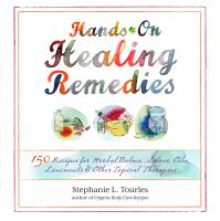 book cover of hands on healing remedies