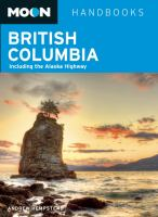 book cover - British Columbia Including the Alaska Highway
