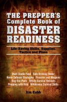 The Prepper's Complete Book of Disaster Readiness
