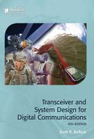Transceiver and system design for digital communications [electronic resource]