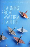 Learning From Law Firm Leaders