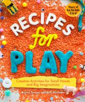 Book Cover Image of Recipes for play