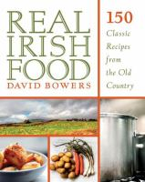 book cover image real irish food
