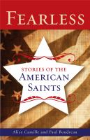 Fearless : stories of the American saints