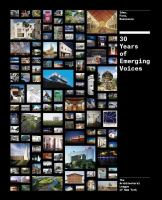 30 years of emerging voices : idea, form, resonance